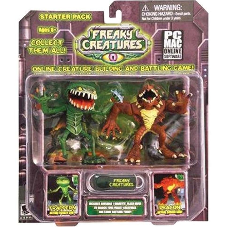 大混乱雑多な昼間Freaky Creatures Trappern & Dracon Starter Pack (輸入版)