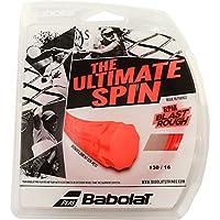 BABOLAT (12Mカット品) RPM ブラスト ラフ 硬式テニス ポリエステル ガット BA243136 ゲージ:(1.25mm/1.30mm/1.35mm) (フルオレッド, 1.30mm) [並行輸入品]