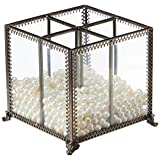 PuTwo Vintage Makeup Brush Holder With Free White Pearls