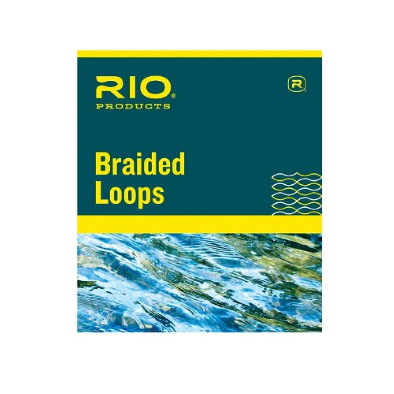 前者マウス演劇(X-Large, White) - Rio Braided Loops for Fly Lines