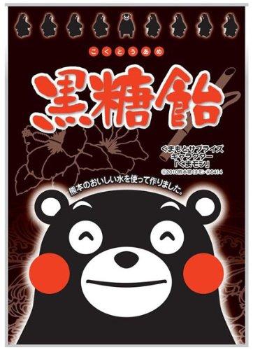 くまモン 黒糖飴 90g