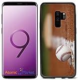 Atomic Market ケースカバー 野球 オンフィールド チョークライン Samsung Galaxy S9 2018用
