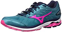 Mizuno レディース Mizuno Women's Wave Rider 20 Running Shoes カラー: ブルー