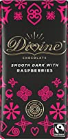 Divine Chocolate - 70% Dark Chocolate With Raspberries - 100g (Case of 15)