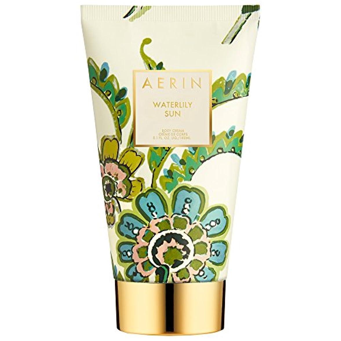 事業内容努力トリップAerinスイレン日ボディクリーム150ミリリットル (AERIN) (x6) - AERIN Waterlily Sun Body Cream 150ml (Pack of 6) [並行輸入品]