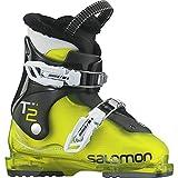 SALOMON(サロモン)T2 ジュニア スキーブーツ 2バックル 子供用 L37819400 GreenBlack