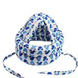 mioim ベビー帽子 赤ちゃん 女の子 男の子 綿 柔らかい かわいい ヘッド帽 通気性 超軽量 綿 安全ヘルメット