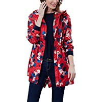 Joules Women's Golightly Packable Rain Coat