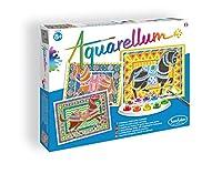 SentoSphere Aquarellum - 馬 マジックアートキャンバス