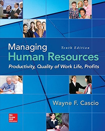Download Managing Human Resources: Productivity, Quality of Work Life, Profits 0078112958