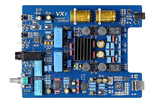 TOPPING 2013 VX1 デジタルアンプ Tripath TA2021採用!24bit/96kHz Envy VT1620A USB DAC内蔵!ヘッドホンアンプ内蔵!