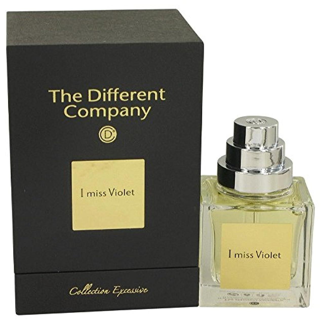 磁気遅い落胆するThe Different Company I miss Violet (ザ ディファレント カンパニー アイ ミス バイオレット) 1.7 oz (50ml) EDP Spray for Women