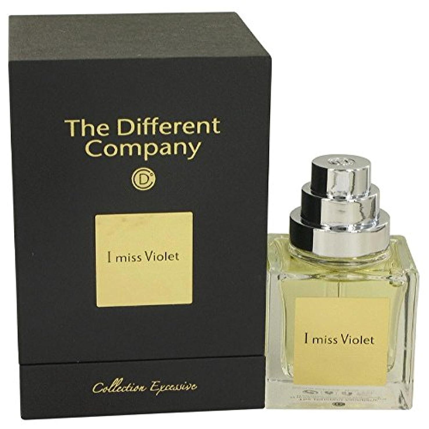 信頼性のあるユーモア世界記録のギネスブックThe Different Company I miss Violet (ザ ディファレント カンパニー アイ ミス バイオレット) 1.7 oz (50ml) EDP Spray for Women