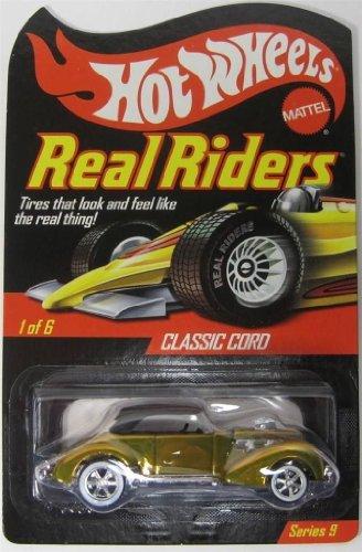 Hot Wheels (ホットウィール) RLC Real Riders シリーズ 9 - Classic Cord ミニカー ダイキャスト 車 自動車 ミニチュア 模型 (並行輸入)