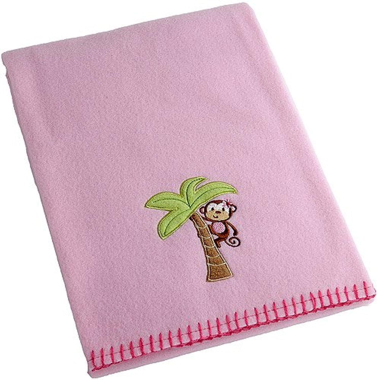 Garanimals Monkey Designed Fleece Baby Blanket by Garanamals
