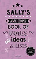 Sally's Awesome Book of Notes, Lists & Ideas: Featuring Brain Exercises!