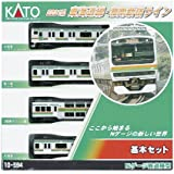 KATO Nゲージ E231系 東海道線・湘南新宿ライン 基本 4両セット 10-594 鉄道模型 電車