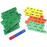 Reading Rods – Prefixes、Suffixes、とルートWord Linking Cubes