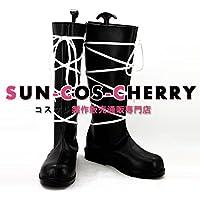 【サイズ選択可】コスプレ靴 ブーツ K-1380 家庭教師ヒットマンREBORN!リボーン スペルビ・スクアーロ 男性26CM