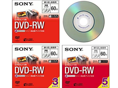 SONY ビデオカメラ用DVD-RW(8cm) 3枚パック 3DMW60A...