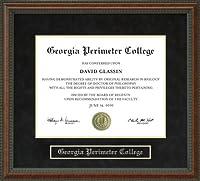 Georgia周長College ( GPC )卒業証書フレーム ga-gpc-91-burl