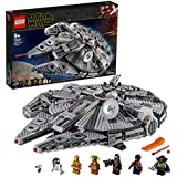 LEGO Star Wars: The Rise of Skywalker Millennium Falcon 75257 Building Kit, New 2019