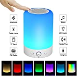 Goldens Portable Bluetooth Speakers V4.0 Wireless Speakers Stereo Subwoofer Smart Touch Speakers Color Changing