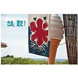 ポストカード文字入り「さあ、夏だ」沖縄アイスクリーム 氷-えはがき絵葉書postcard-