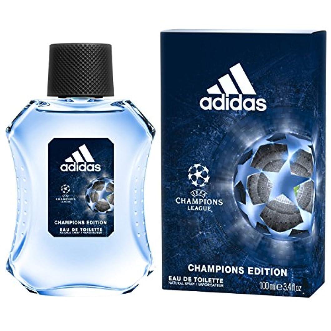 【アディダス】UEFAチャンピオンズリーグ チャンピオンズエディション EDT?SP 100ml [並行輸入品]