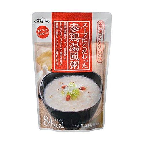 【お徳用 12 セット】 テーブルランド スープにこだわった参鶏湯風粥 1人前 220g×12セット