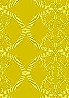 ポスター ウォールステッカー シール式ステッカー 飾り 182×257㎜ B5 写真 フォト 壁 インテリア おしゃれ 剥がせる wall sticker poster pb5wsxxxxx-004147-ds チェック・ボーダー 模様 黄色