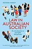 Cover of Law in Australian Society: An introduction to principles and process