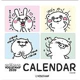 ヨッシースタンプ 2020年 カレンダー 壁掛け CL-80