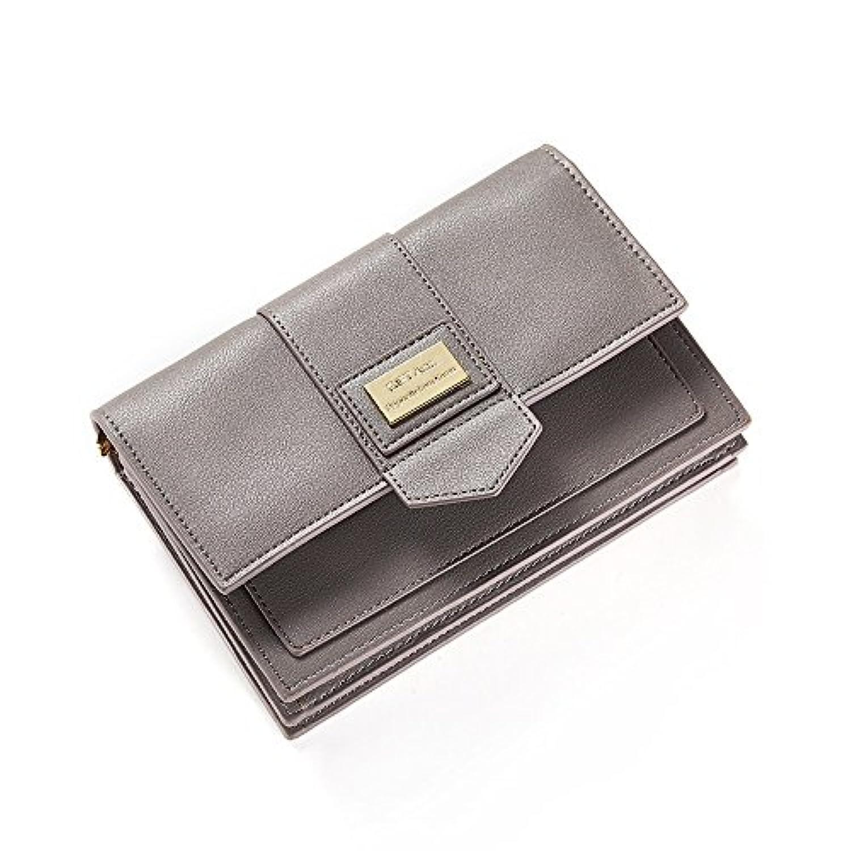 新しい レディース ショルダーバッグ ファッション ソリッドカラー 大容量 PU ショルダーストラップ 長い ハンドバッグ 財布