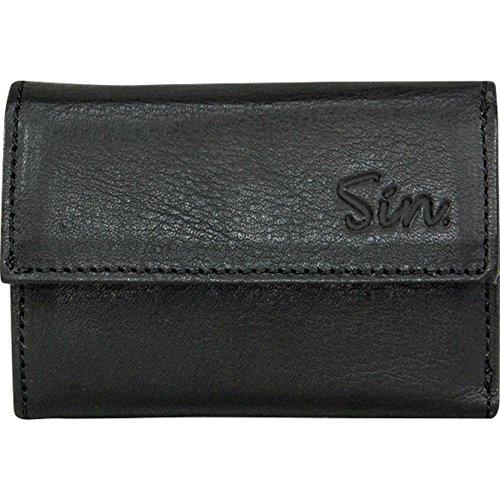 COIN HOME専用 お札も入る イタリアン レザー財布 ブラック