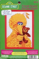 Janlynn Sesame Street Friends Forever Big Bird Counted Cross Stitch Picture Kit by Janlynn