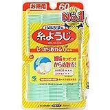 小林製薬の糸ようじ フロス&ピック デンタルフロス 60本 (試供品付き)