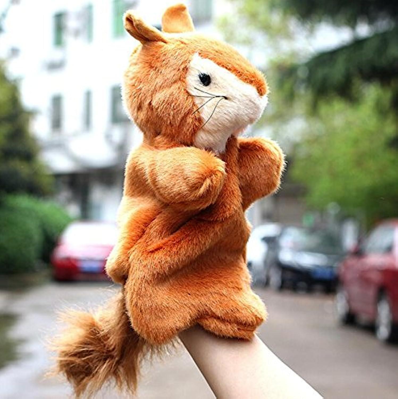 YChoice 興味深い指人形 おもちゃ ソフトベルベット人形 ハンドアニマルパペット 赤ちゃんのストーリー タイムプロペラ