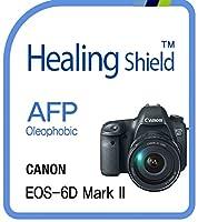 Healingshield スキンシール液晶保護フィルム Oleophobic AFP Clear Film for Canon Camera EOS-6D Mark Ⅱ [4pcs]