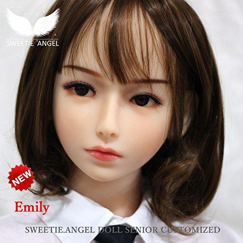 リコーン人形の頭 本体シミュレーション人形 少女の頭 セックスヘッ ド フェラ機能の頭(ホワイト)