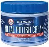 ブルーマジックメタルポリッシュクリームforクローム&アルミニウム7オンス