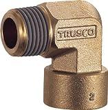 TRUSCO ねじ込み継手 エルボ R1/4-RC1/4 TN12L