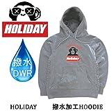 ホリデー スノーボード パーカー 防水 HOLIDAY ホリデー ATHL DEPT 撥水HOODIE ヘザー グレー スノーボード パーカー XL