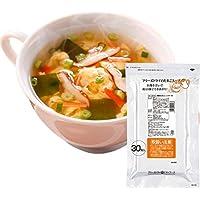 アマノフーズ フリーズドライ 業務用たまごスープ 7g 30食×4 まとめ買い