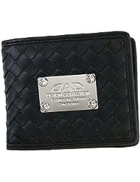 [ディーエーディー(D.A.D)] 1602 イントレチャート 二つ折り財布 小銭入れ BLACK/ブラック 1272091602015