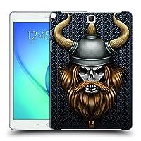 Head Case Designs バイキング スカル・ウォリアーズ ハードバックケース Samsung Galaxy Tab A 9.7
