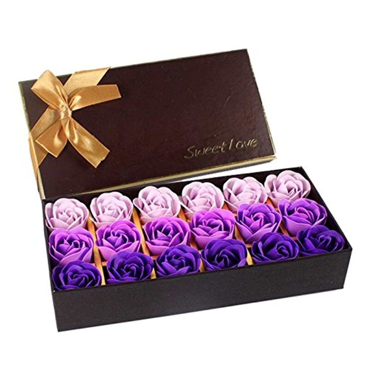 マイル大宇宙バラ色ローズ フラワーソープ 石鹸 薔薇 プレゼント お祝い ② #334