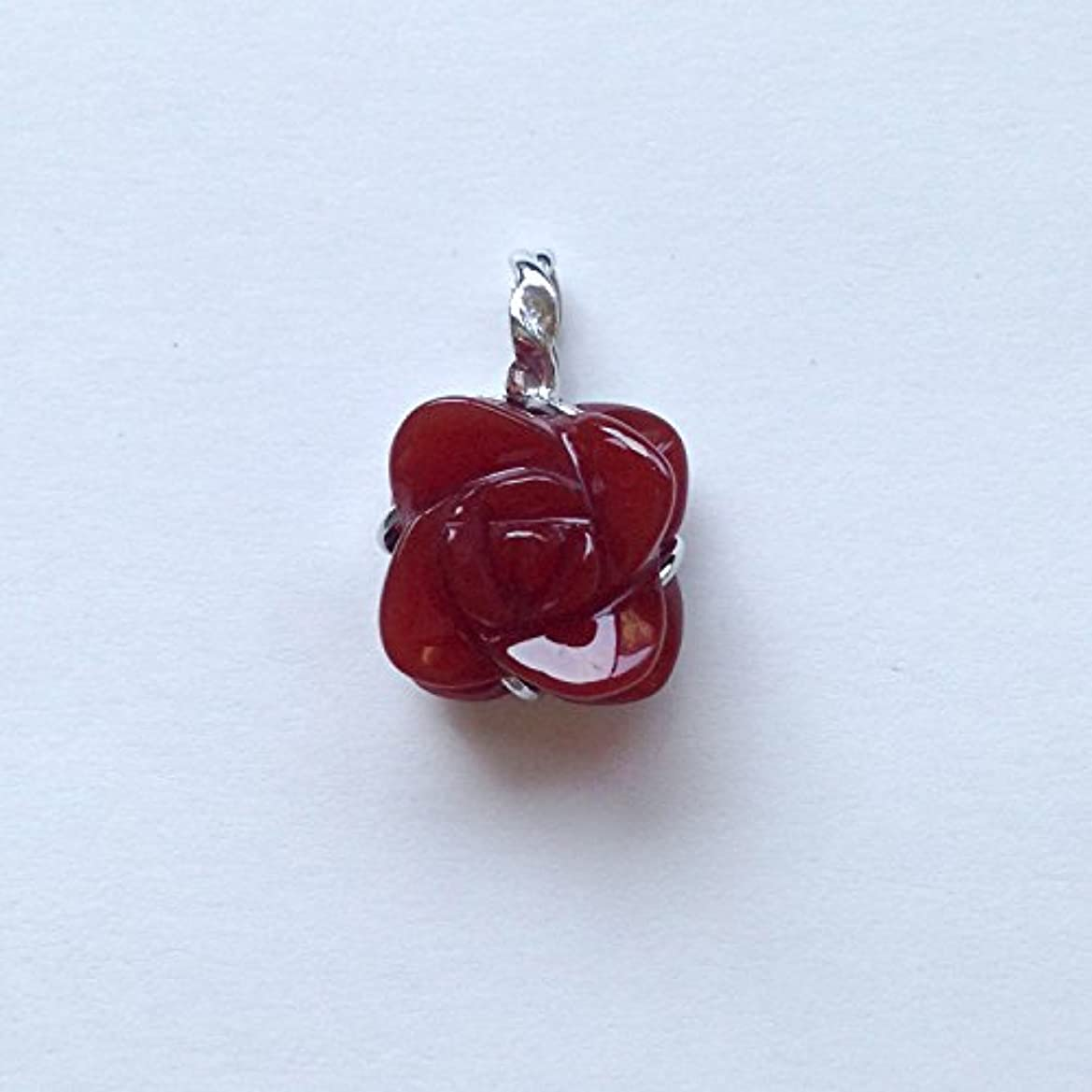 聴くインスタンス計画的香る宝石SV赤メノウペンダント通常¥26,800の所 (Ag925)