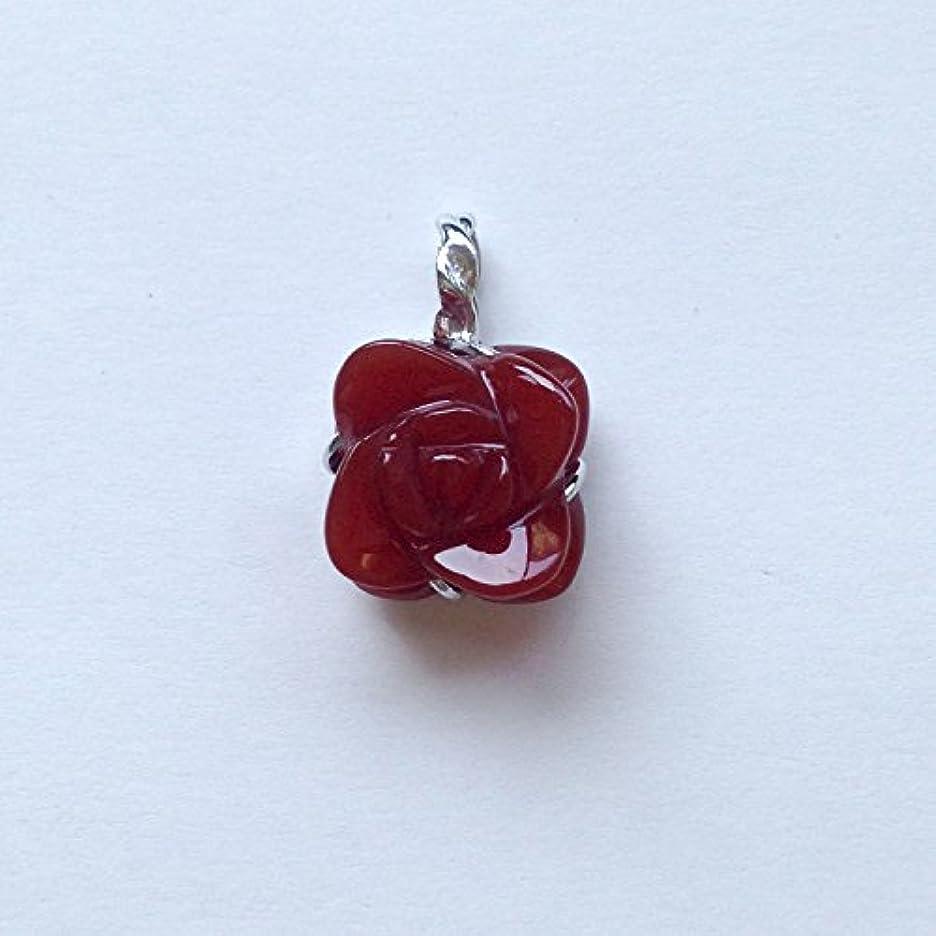 ほこり歌詞バン香る宝石SV赤メノウペンダント通常¥26,800の所 (Ag925)