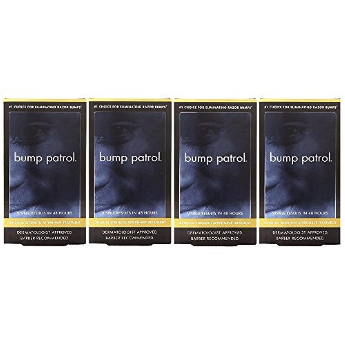 余分な泥眠っているBump Patrol Dermatologist Approved Original Strength Aftershave Treatment (2 oz) 4 Pack [並行輸入品]